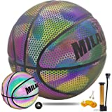 AKA Holographic Reflective Basketball Indoor And Outdoor General Official Size