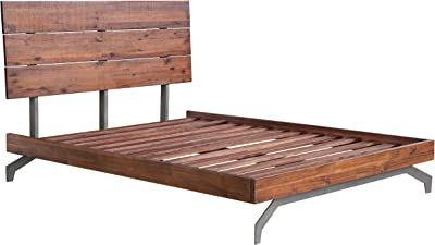 Amazon Com Espresso Queen Mate S Platform Storage Bed