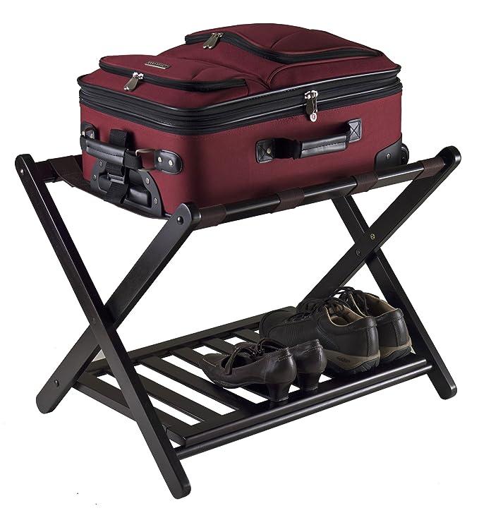 - Amazon.com: Winsome 92436 Luggage Rack With Shelf: Home & Kitchen