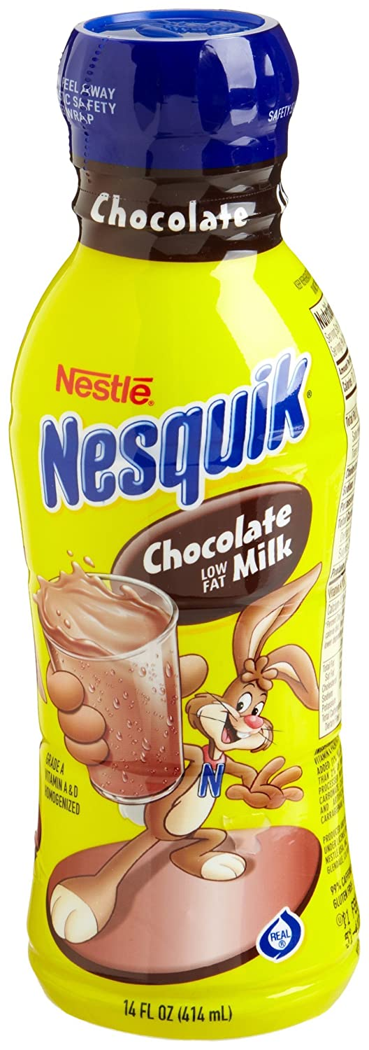 Nestle nesquik ready to drink flavored milk low fat chocolate 1 nestle nesquik ready to drink flavored milk low fat chocolate 1 milkfat 14 ounce bottles pack of 12 amazon grocery gourmet food sciox Choice Image