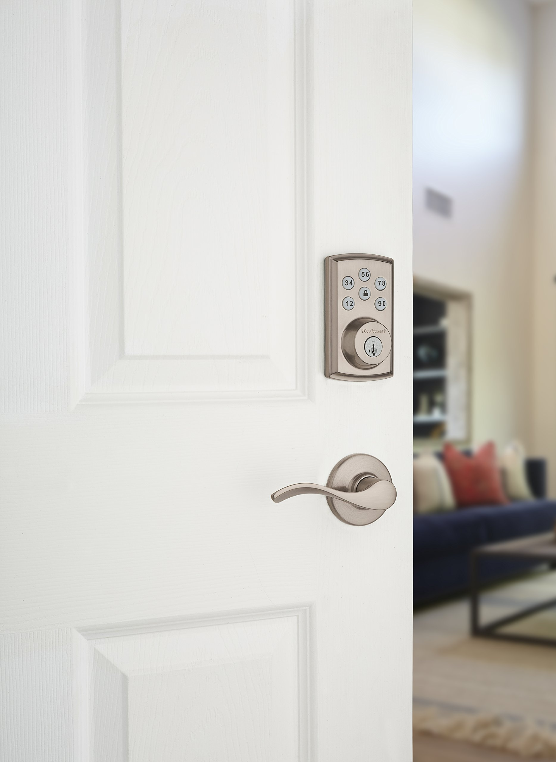 Kwikset 888ZW500-15S Smartcode 888 Electronic Deadbolt with Z-Wave Technology by Kwikset (Image #5)
