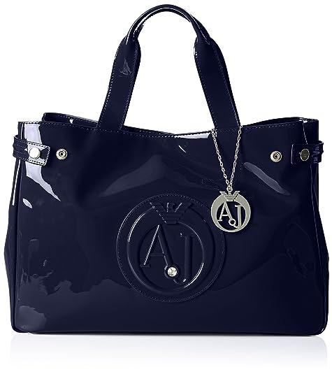 81990edae8 Armani Jeans922591CC855 - Borsa shopper Donna , Blu (Blau (BLU 00335)),
