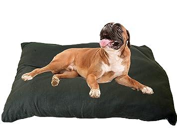 kosipet® Negro Polar Deluxe Jumbo Tamaño Cojín cama perro, camas, Pet,: Amazon.es: Productos para mascotas