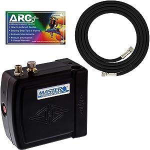 Master Black Mini Airbrush Air Compressor
