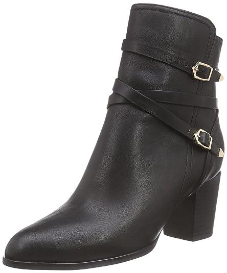 Giudecca JY14PR20-1, Bottes Chelsea Courtes, Doublure Froide Femme Noir (Black) 39 EU