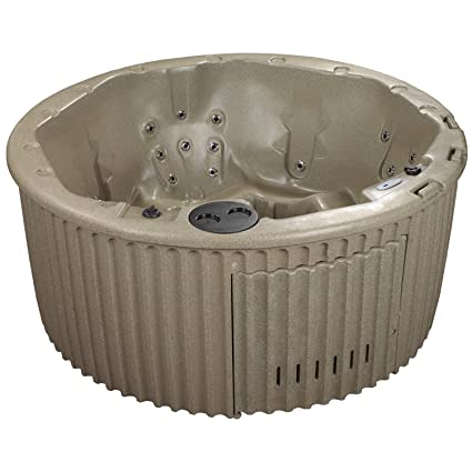 amazon com : essential hot tubs 20 jets arbor hot tub, cobblestone : garden  & outdoor