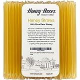 Honey Acres' 50ct Raw Unfiltered Honey Straws - Pure USA Honey Sticks