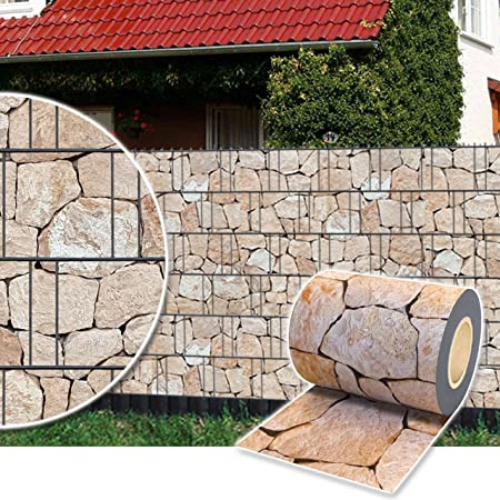 und Lärmschutzfolie Rolle 35 m Marmorkies Plantiflex ® Sicht- Wind