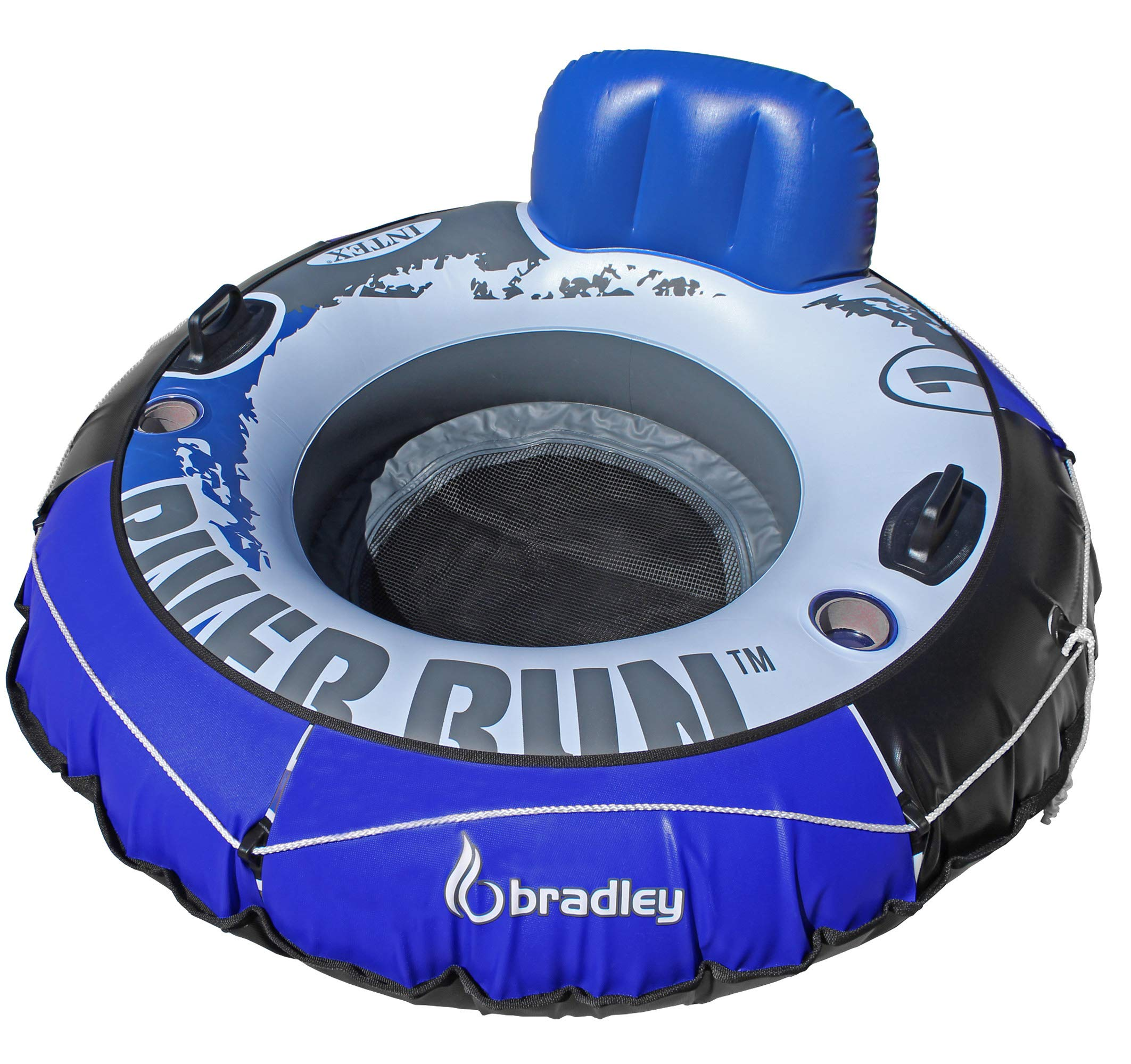 Intex Heavy Duty River Run Tube with Cover (4 Pack)   Floating Lounger   River Tube by Intex (Image #2)