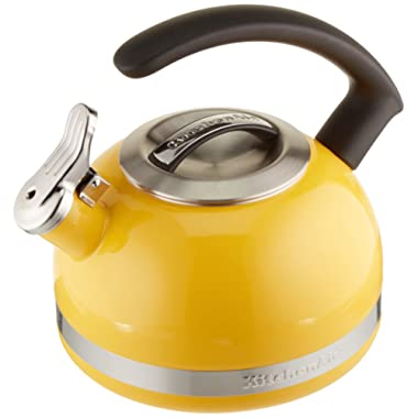 KitchenAid KTEN20CBIS 2.0-Quart Kettle with C Handle and Trim Band - Citrus Sunrise