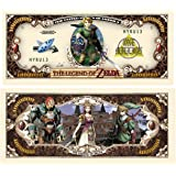 American Art Classics Pack of 5 - Legend of Zelda Limited Edition Collectible Novelty Million Dollar Bill - Best Gift for Zelda Fans Link, Twilight Princess