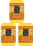 One With Nature Dead Sea Minerals Lemon Sage Soap with Argan Oil and Shea Butter