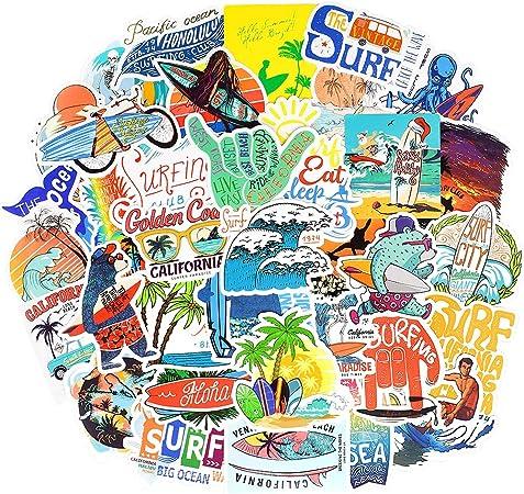 Car Sticker Surfer 045 STICKER Hawaii Surf Surfing