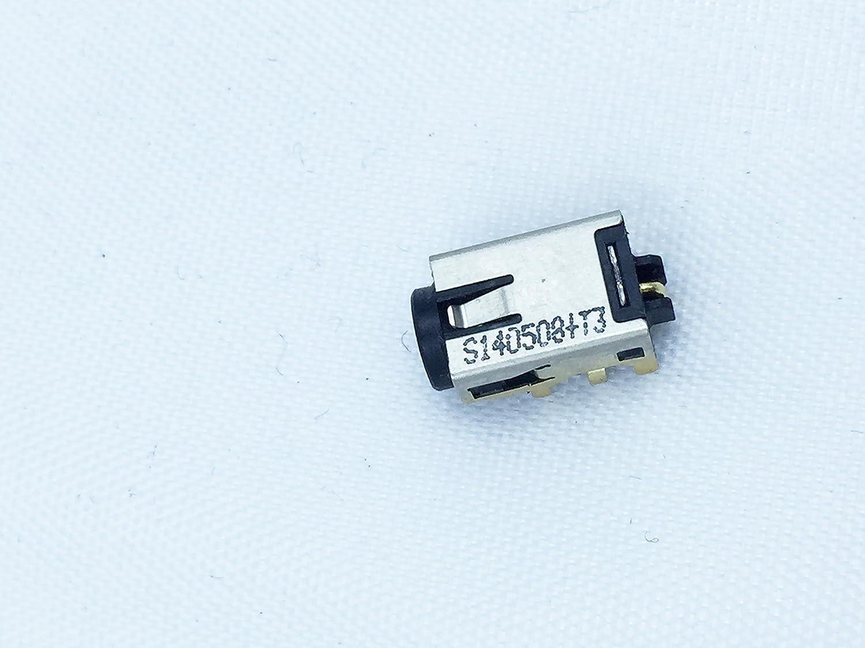 Rangale New AC DC Power Jack in Socket Connector Plug for ASUS VivoBook F200E F201E F202E Q200E X200CA X200E X201E X202E S200E S200L S400CA