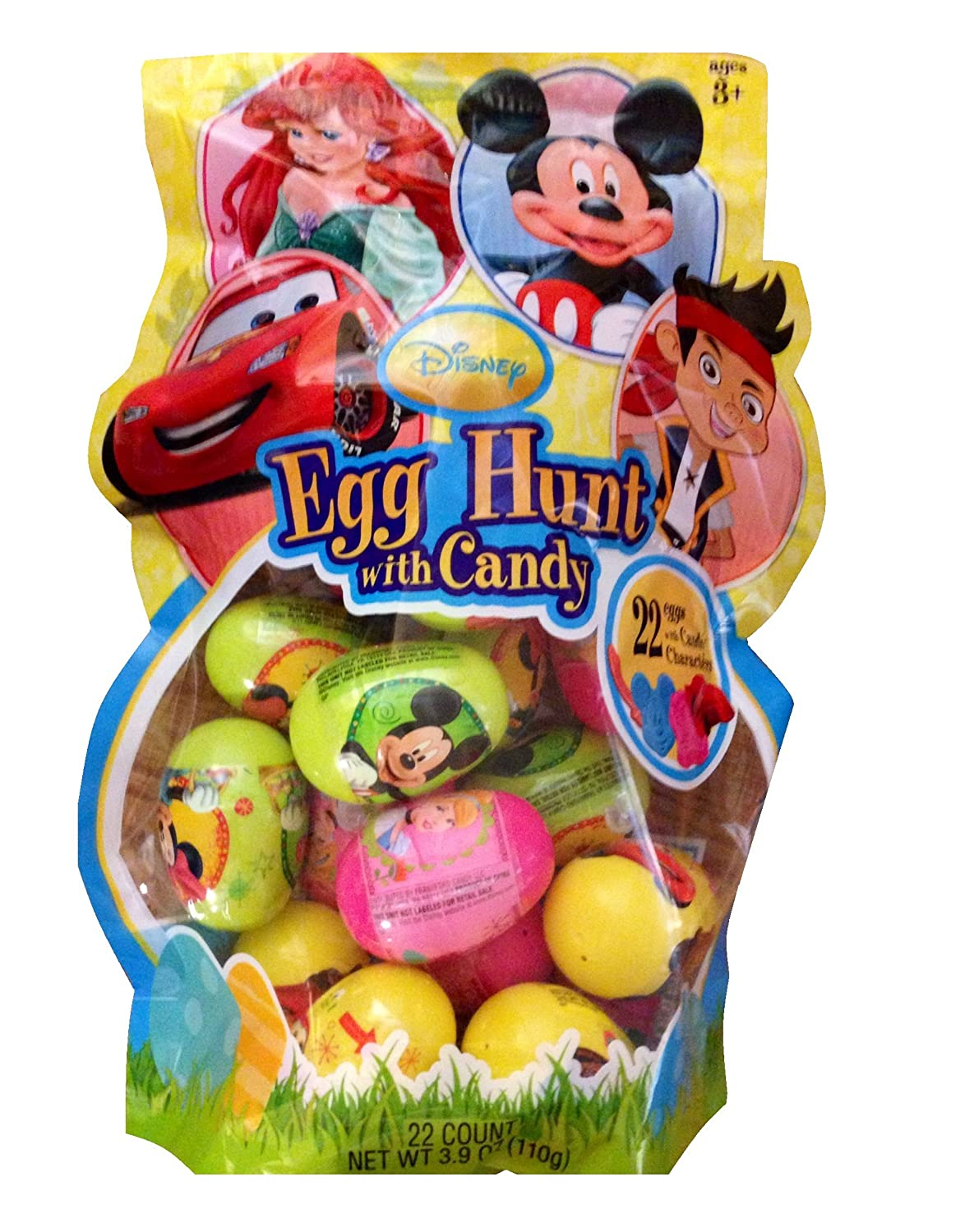 Amazon disney easter egg hunt with candy 22 count garden amazon disney easter egg hunt with candy 22 count garden outdoor negle Image collections