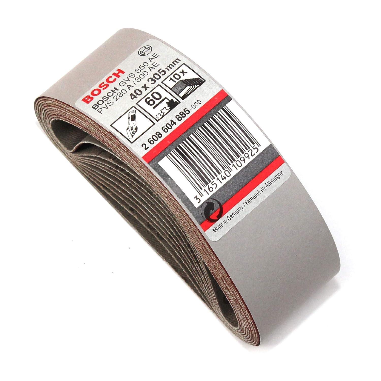 Schleifband Schleifbänder 5 St K 80 für Bandschleifer BOSCH PVS 300 GVS 350 AE