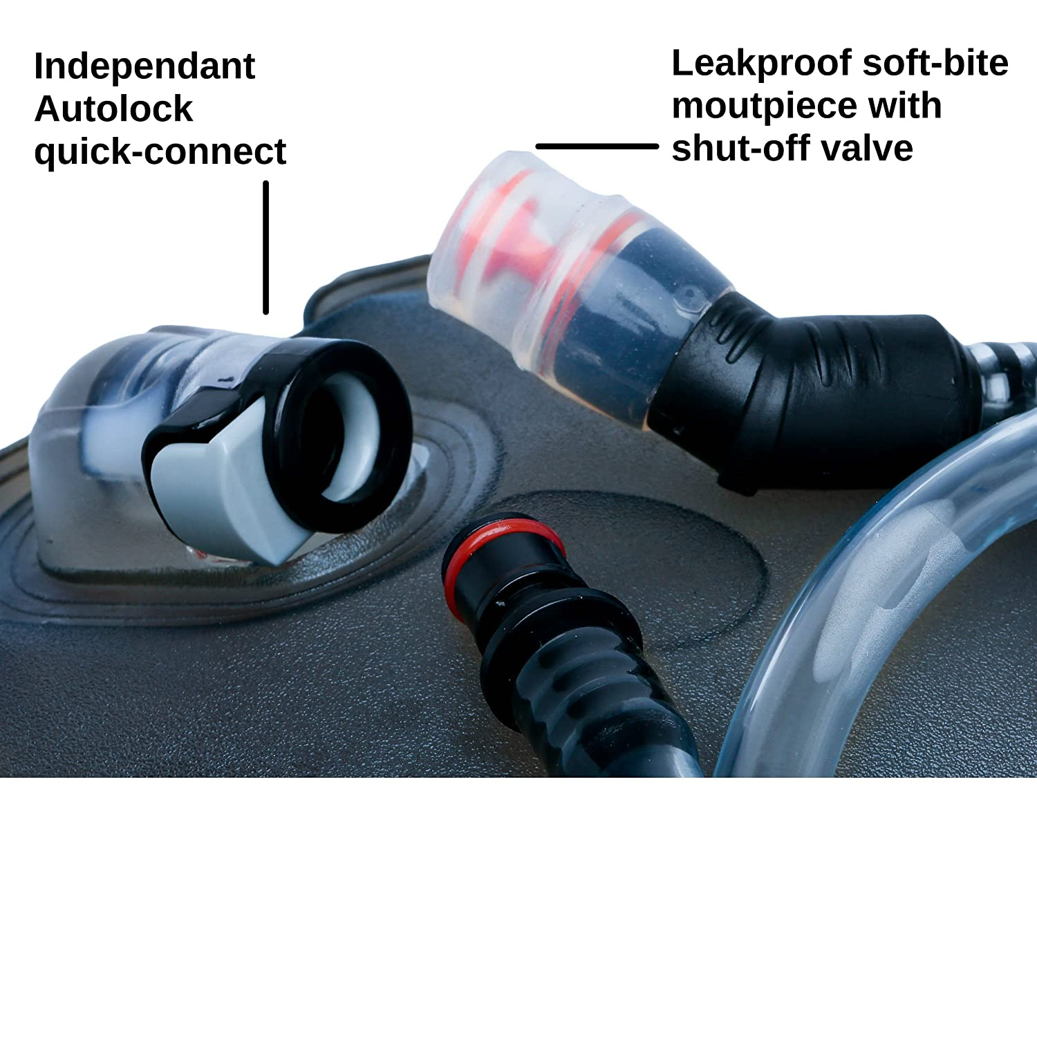 Leakproof Water Bag Perfect Hydration Bladder 2L // 3L BPA Free FDA Approved No Plastic Taste