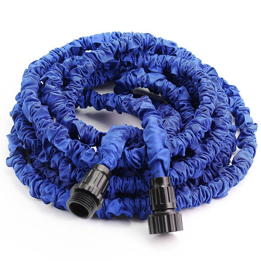 Greenmall 50Ft Expandable Garden Water Hose With 7 Functions Sprayer-Blue (50.. 10