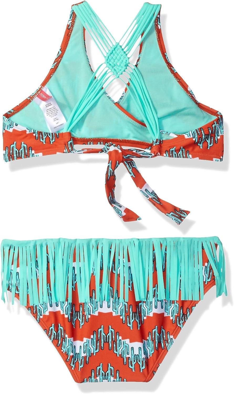 Gossip Girl Big Boho Cactus Two Piece Bikini Swimsuit