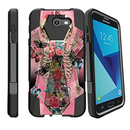 Amazon.com: MINITURTLE Funda de teléfono compatible con J7 ...