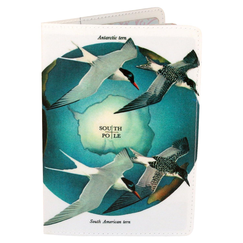 Porta Pasaportes - el Polo Norte / Tarjeta De Pájaro Polo Sur ...