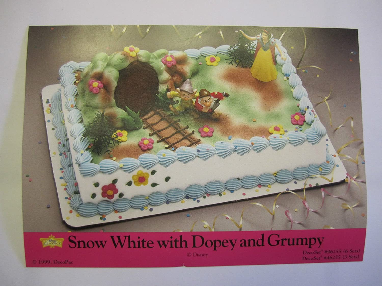 Amazon.com: Blancanieves princesa tarta Kit Grumpy enanito ...