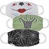 Martex Health Reusable Washable Face Mask, Halloween Spooky, Adult