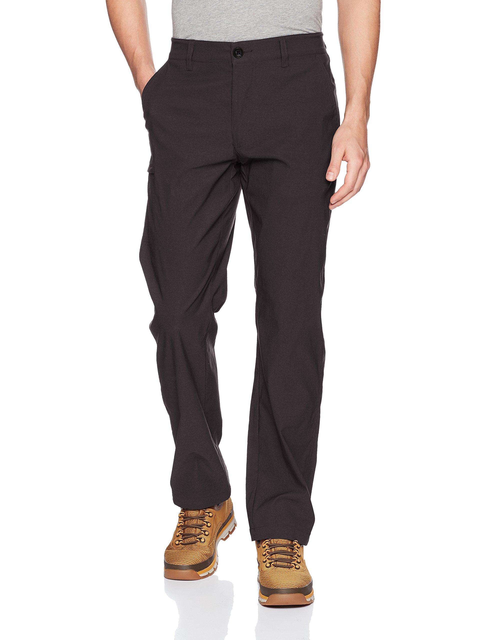 UnionBay Men's Rainier Travel Chino Pants (Charcoal, 32W x 34L)