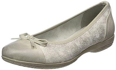 Soft Line 22168, Ballerines Femme, (Lt. Grey Comb 211), 40 EU