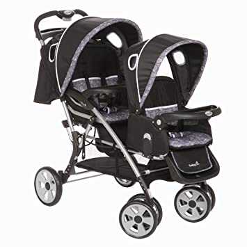 Amazon Com Safety 1st Two Ways Tandem Stroller Orion Pewter Baby