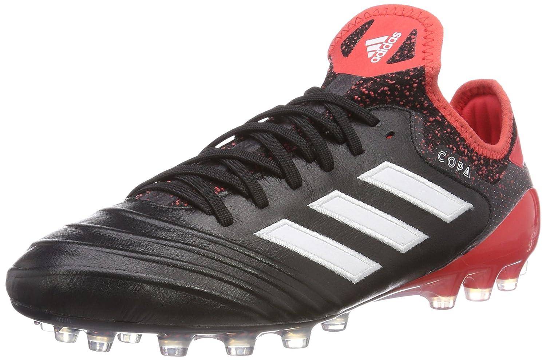 Adidas Herren Copa 18.1 AG Fußballschuhe, Schwarz Weiß Rot, 44 2 3 EU