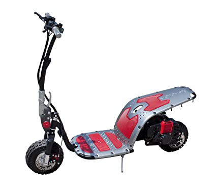 Amazon com : Motovox Stand-Up Gas Powered Scooter (Red/Gray