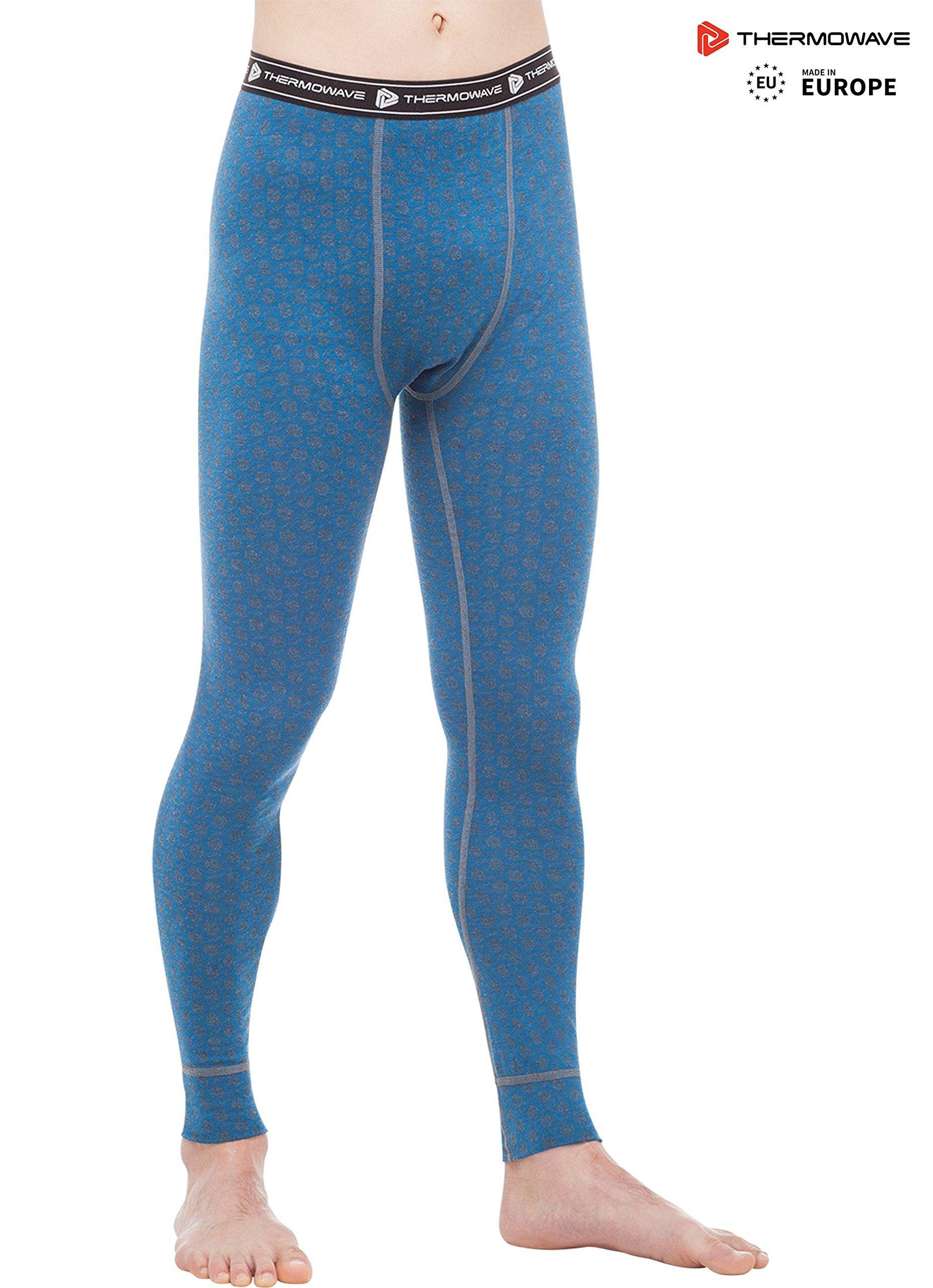 Thermowave - Merino Xtreme/Mens Merino Wool Thermal Pants/Dark SEA - L