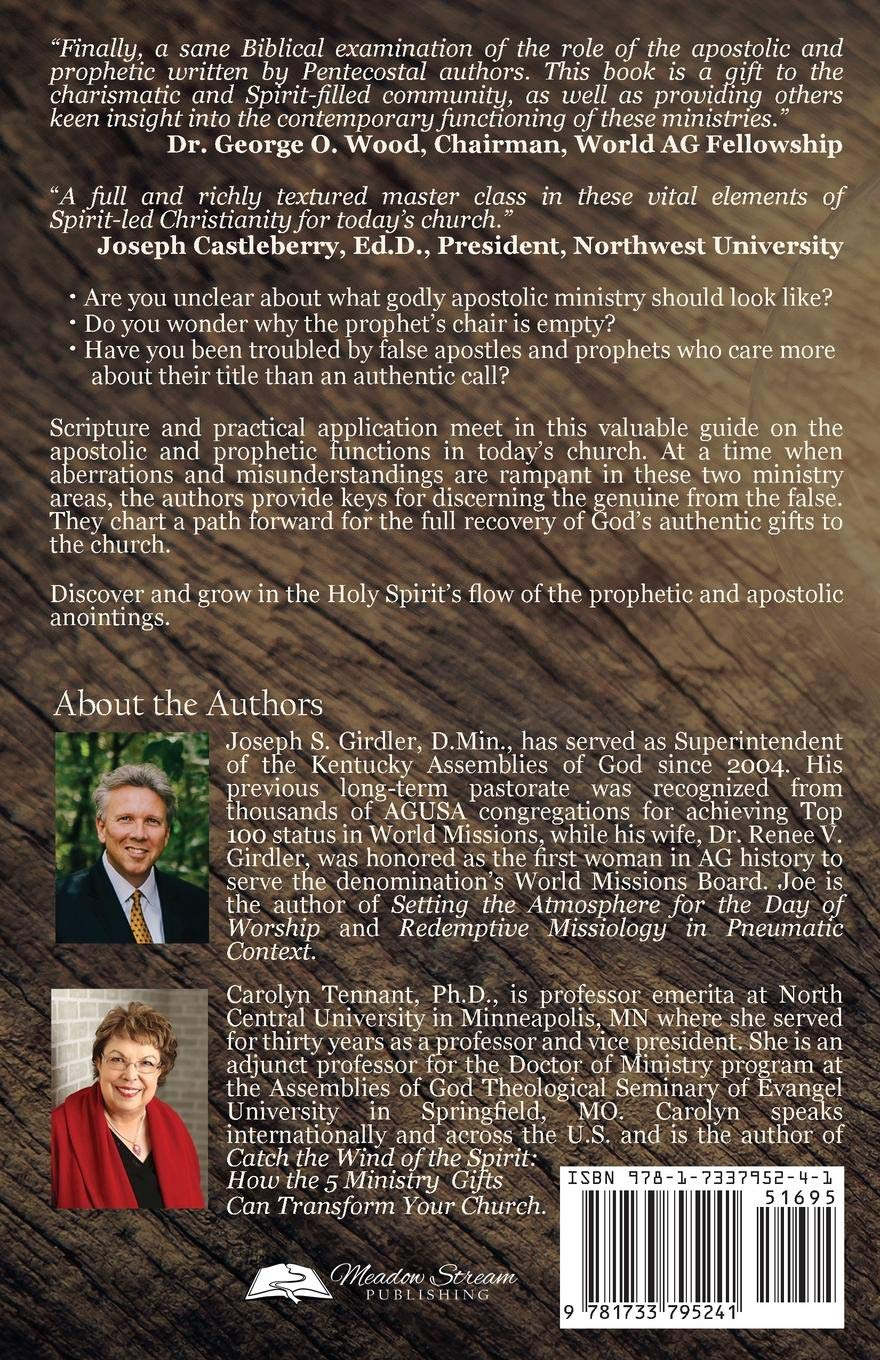Keys to the Apostolic and Prophetic: Embracing the Authentic