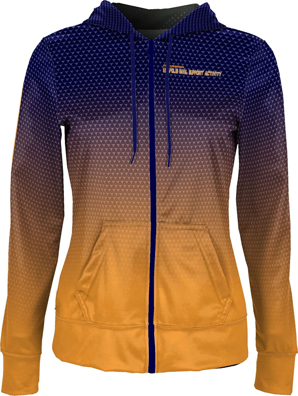 ProSphere Women's Annapolis Naval Support Activity Military Zoom Fullzip Hoodie