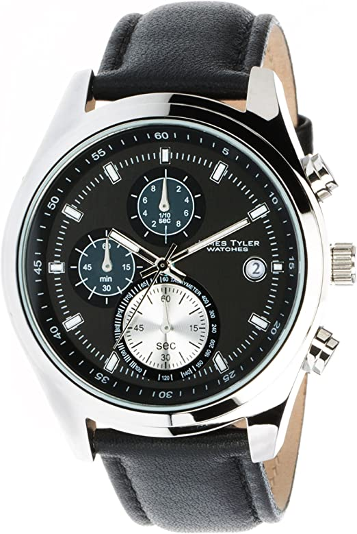 James Tyler Herren Armbanduhr Quarz Chronograph Jt701 2 Amazon De Uhren