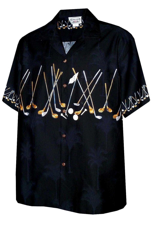 Pacific LegendメンズS to 4 xゴルフクラブChestバンドシャツ Small ブラック B004QZXSAY