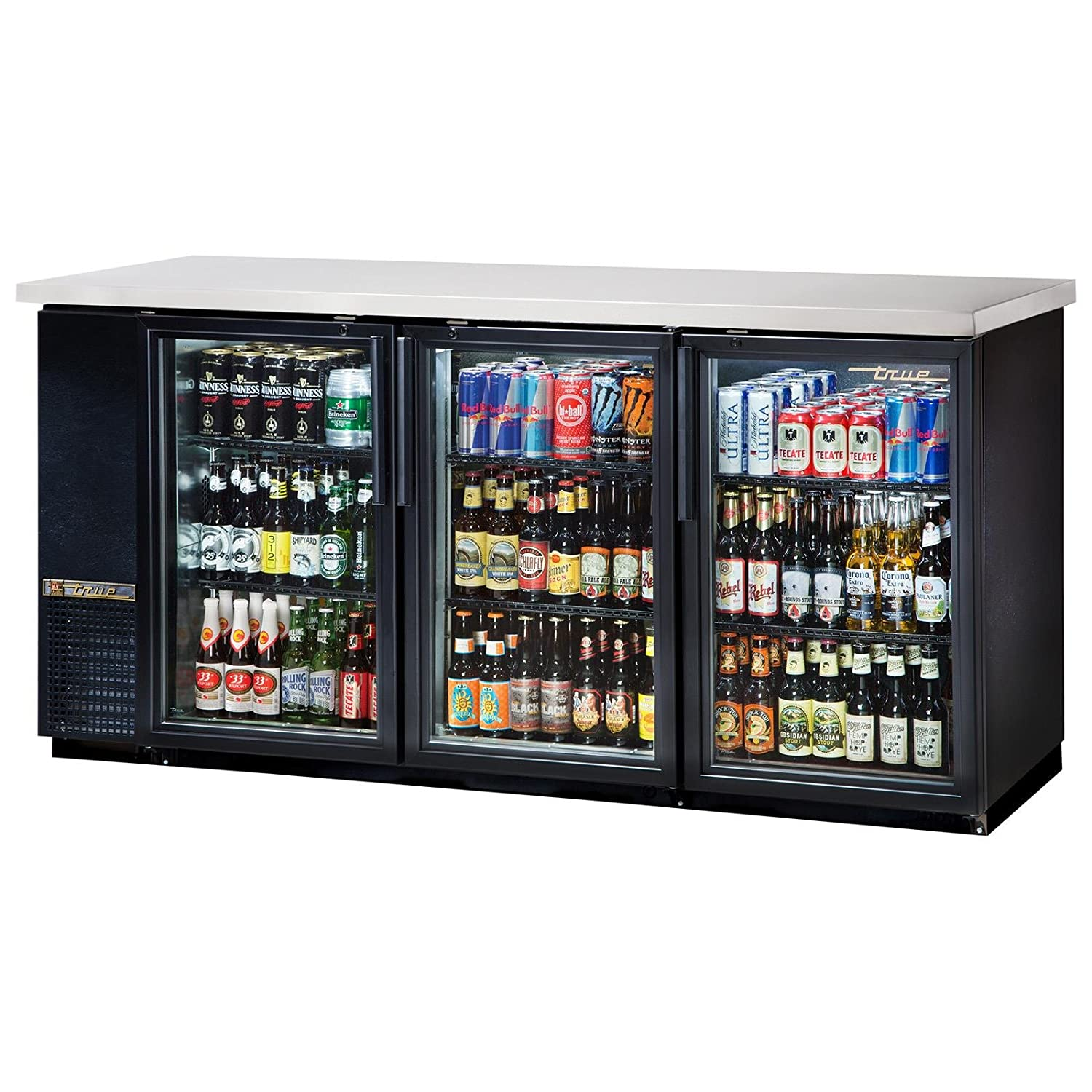 True TBB-24-72G-LD Back Bar Cooler, 33 Degree F to 38 Degree F