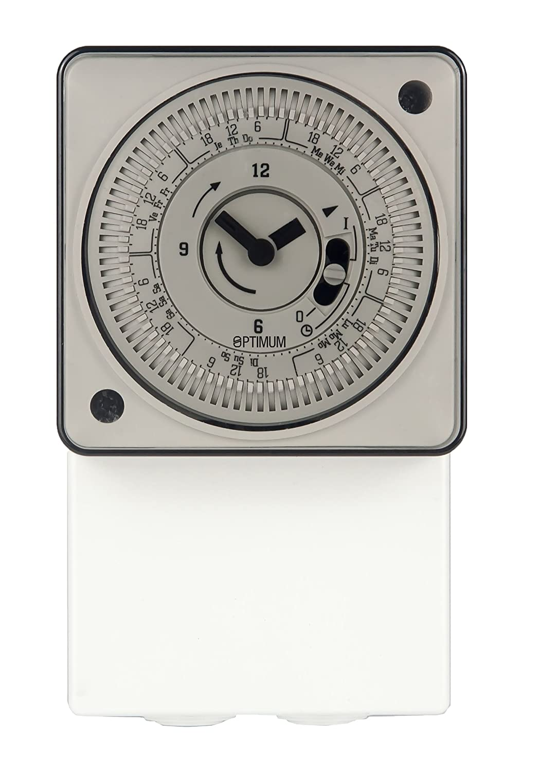 Optimum OP-IHTGPW 7 Day Immersion/General Purpose Time Switch, 230 V, White Tower Flue Components