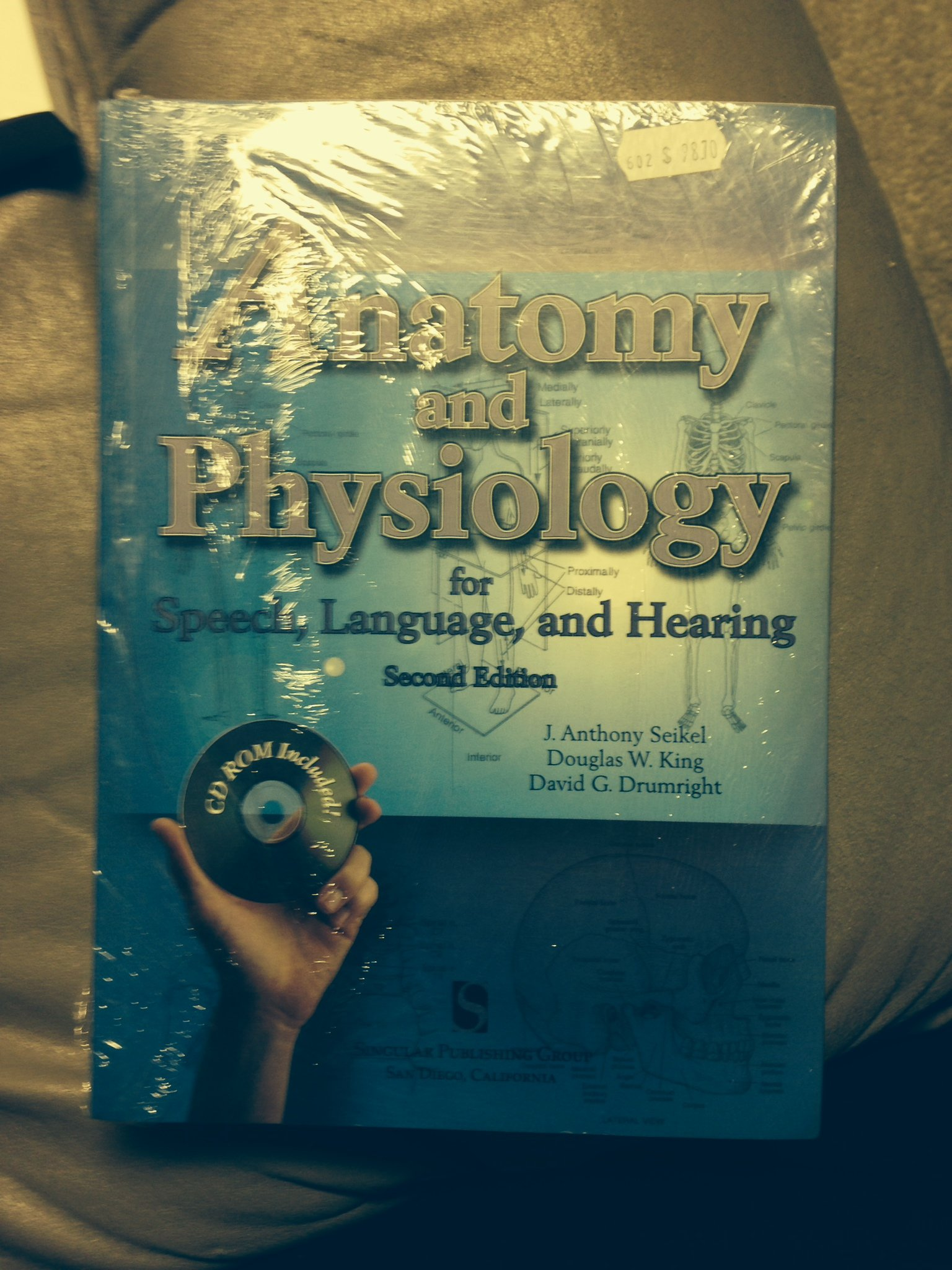 Anatomy and Physiology for Speech, Language, and Hearing 2nd Edition ...