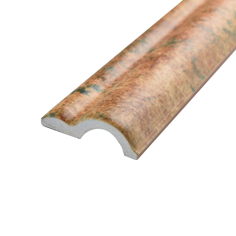 SOMERTILE web8comm Cana cerámica moldura embellecedor de pared para azulejos, 2
