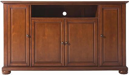 Crosley Furniture Alexandria 60 Inch TV Stand   Classic Cherry
