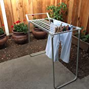Amazon Com Oxo Good Grips Laundry Drying Rack Laundry