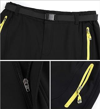 b2244b9faccb6 Pantalon de Randonnée Polaire Imperméable pour Automne Hiver Homme. Lachi  Pantalon de Randonnée Polaire Imperméable pour Automne Hiver Homme