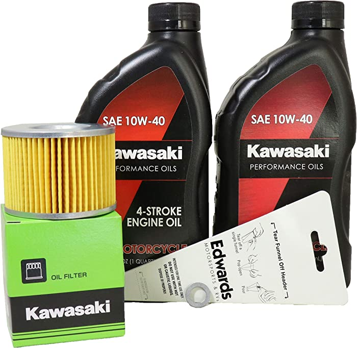2009 Kawasaki EX250J9FA (Ninja 250R) Oil Change Kit
