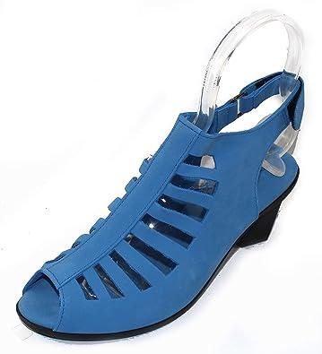 a52e9d42c3 Image Unavailable. Image not available for. Color: Arche Women's Enexor in Bora  Nubuck - Light Denim Blue ...