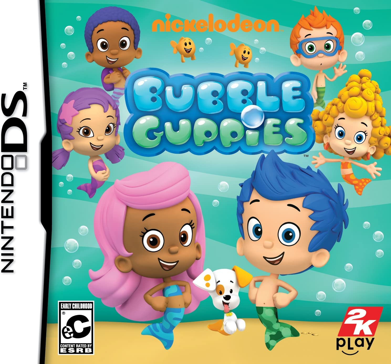 amazon com nickelodeon bubble guppies nintendo ds video games
