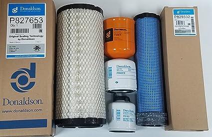 Amazon com: Bobcat T590 Filter Service Kit Air, Oil, Fuel