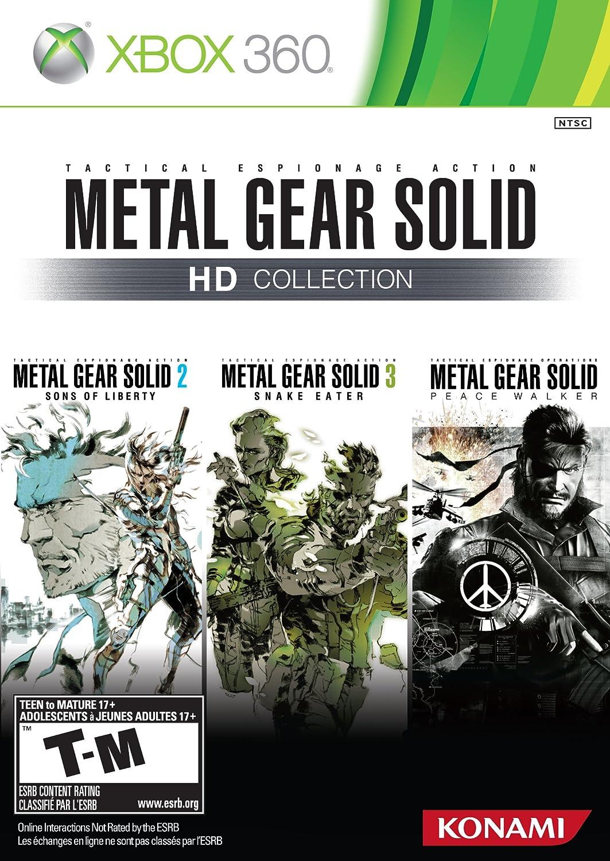 Amazon com: Metal Gear Solid HD Collection: Xbox 360: Konami