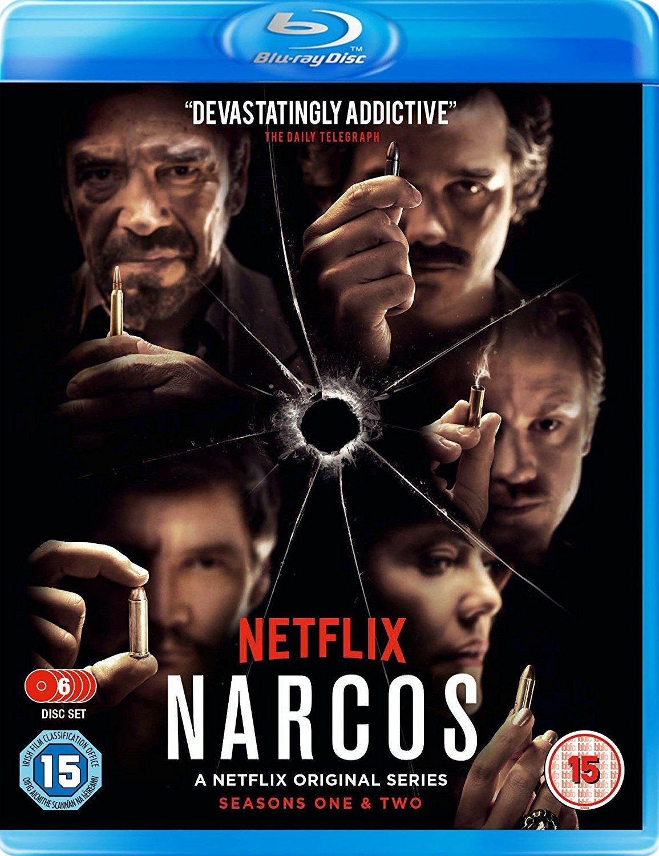 Amazon com: Narcos Season 1 & 2 Boxset [Blu-ray]: Pedro Pascal